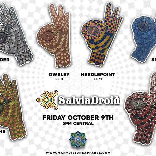 """Gotcha"" hatpin art by Salvia Droid"