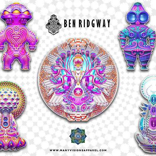 Ben Ridgway Sticker Pack
