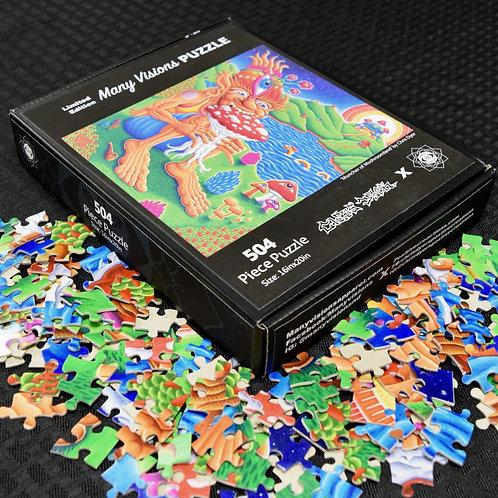 Chris Dyer Puzzle 'Muncher of Mushroomland'