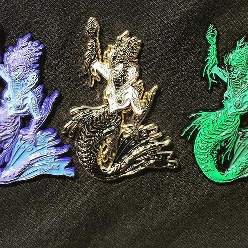 Luke Brown Mermaid pin set,