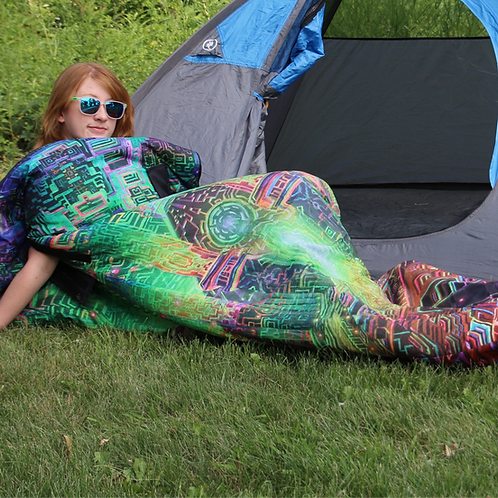 """Avalon"" Sleeping bag art by Jonathan Singer"