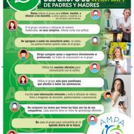 DECALOGO DEL BUEN USO DE LOS GRUPOS WHATSAPP DE PADRES Y MADRES DEL COLEGIO
