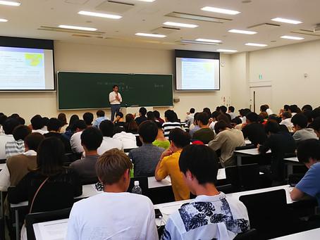 神戸学院大学で、ゲスト講師をしました。