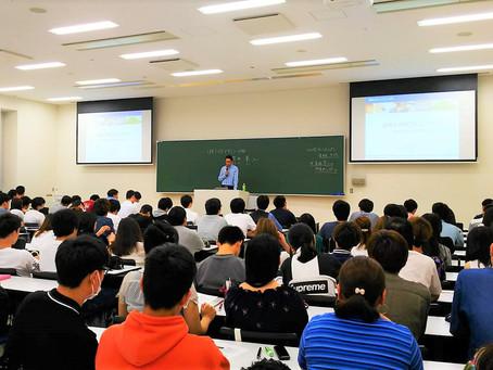 神戸学院大学でゲスト講演をしました!