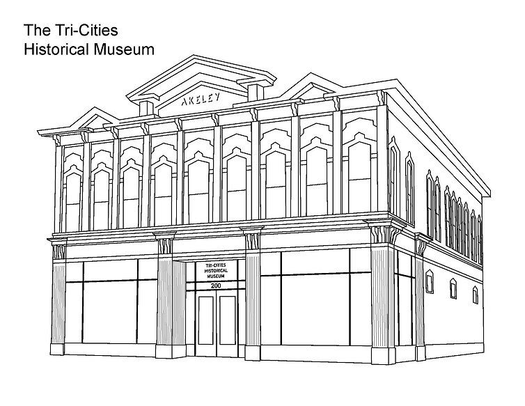 outline of the tri-cities historical museum