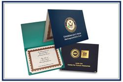 Certificates & Holders
