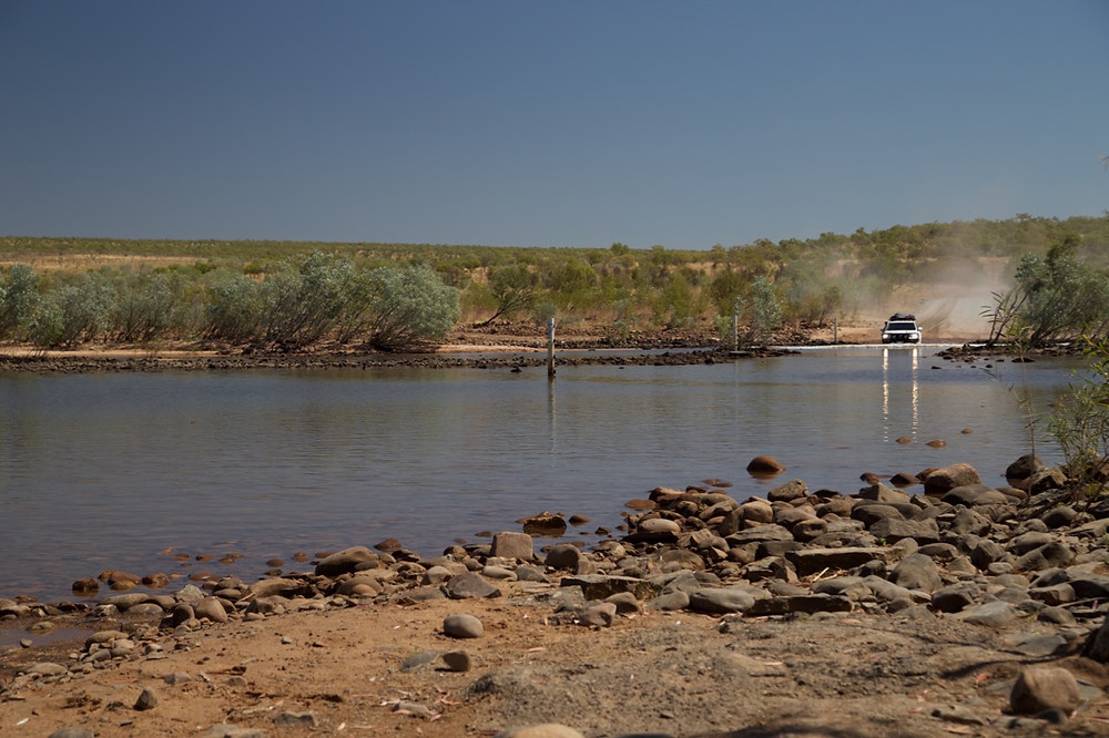 Pentecost River on the Gibb River Road