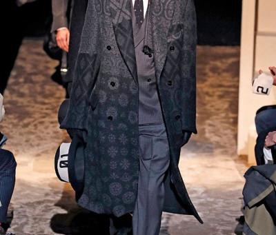 LONDON & MILAN MEN'S FASHION TRENDS TO FALL-WINTER 2016/17