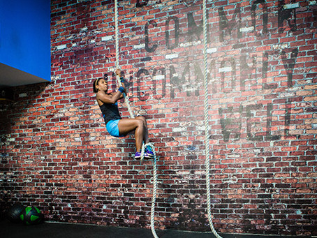 CROSSFIT:  CONSTANTLY VARIED, FUNCTIONAL MOVEMENTS, HIGH INTENSITY AND COMMUNITY