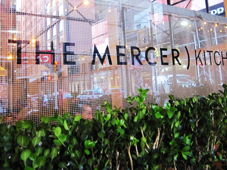IN THE HEART OF SOHO NYC: THE MERCER KITCHEN.
