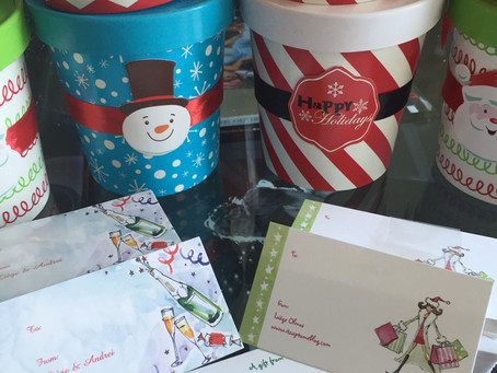 HOLIDAYS' GIFTS - A KIND WAY TO SAY THANK YOU