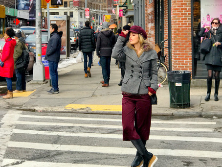 WARM AND STYLISH IN NEW YORK