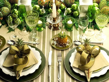 QUICK TIPS TO DECORATE THE NEW YEAR'S EVE TABLE