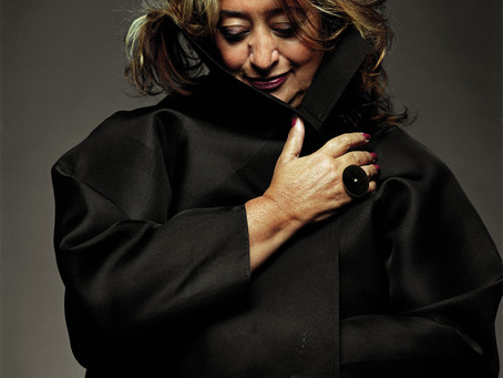 TO HONOR THE AMAZING ZAHA HADID: ONE OF THE 100 MOST POWERFUL WOMEN IN THE WORLD.
