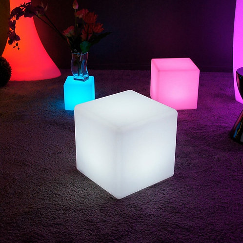 Cube Lumineux Led multicolore