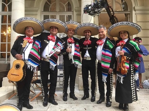 Groupe traditionnel Mariachis