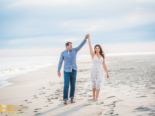 CAPE MAY ENGAGEMENT | LINDSAY & DAVID