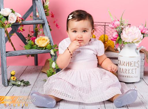 CAKE SMASH | BABY ISABELLA