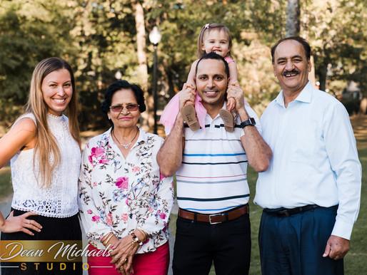 VERONA PARK PORTRAIT | SHARMA FAMILY