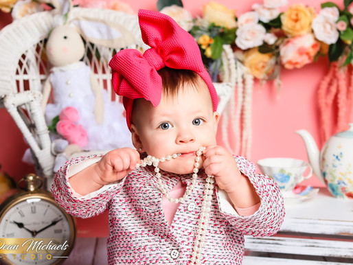 CAKE SMASH | BABY MCCARTNEY