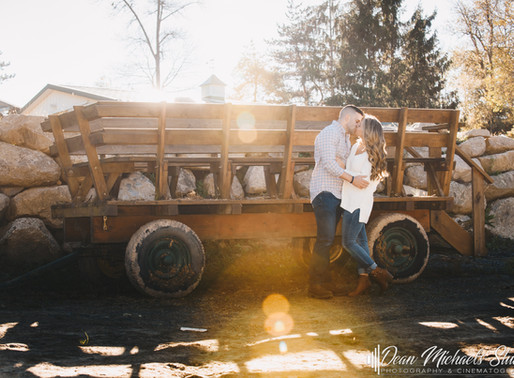 WARWICK VALLEY WINERY ENGAGEMENT | AILEEN & JAMES