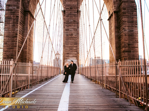 BROOKLYN SUNRISE ENGAGEMENT |  AMANDA & RYAN