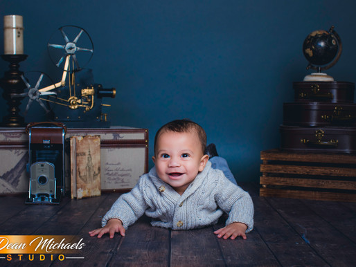 TODDLER SESSION | BABY MICHELANGELO