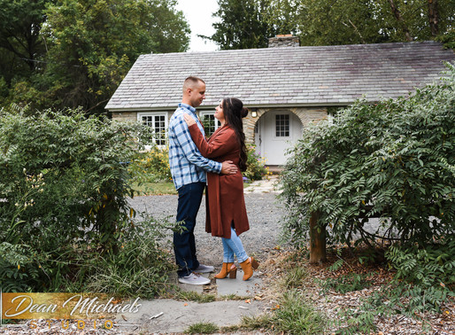 COLONIAL PARK ENGAGEMENT | ASHLEY & GEORGE