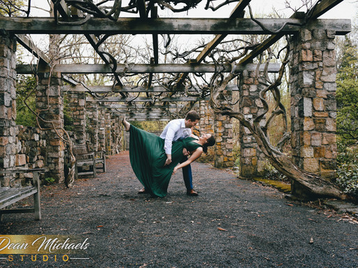 CROSS ESTATE GARDENS ENGAGEMENT | NICOLE & SEAN