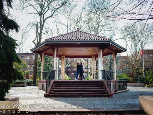 JERSEY CITY ENGAGEMENT | CIELO & RANDOLPH