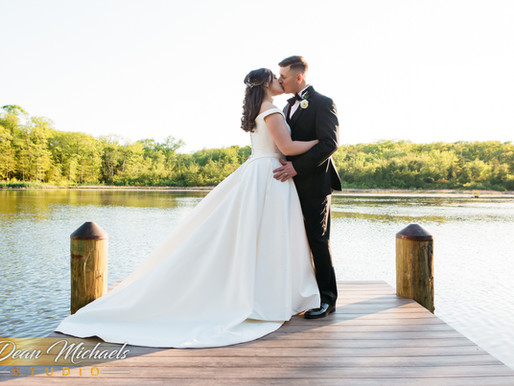 MILL LAKESIDE MANOR WEDDING | KELSEY & DIMITRI