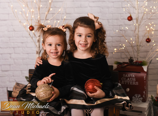 HOLIDAY SESSION | CLAIRE & EMMY