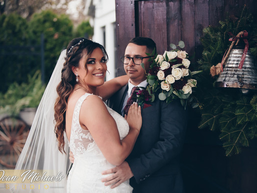 HAMILTON MANOR WEDDING | BRITTANY & VINCENT