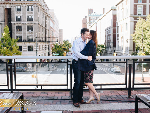 COLUMBIA UNIVERSITY  ENGAGEMENT |  KAREN & NATHANIEL