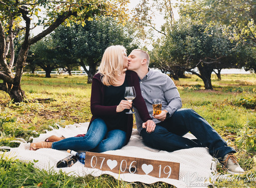 WARWICK VALLEY WINERY ENGAGEMENT | BROOKE & ANDREW