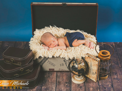 NEWBORN SESSION | BABY MICHELANGELO