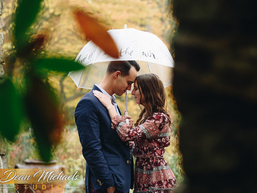 CROSS ESTATE GARDENS ENGAGEMENT | ERIN & AARON