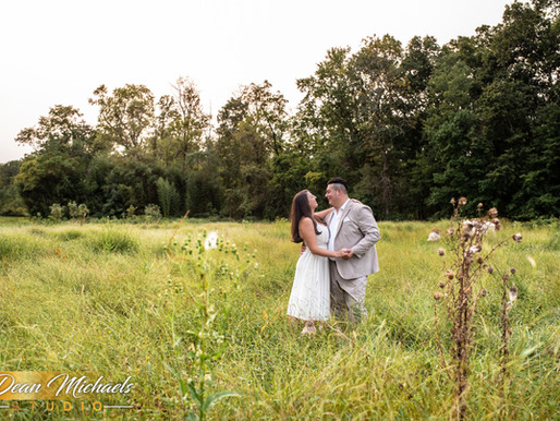 COLONIAL PARK ENGAGEMENT | CATHERINE & CHRISTOPHER