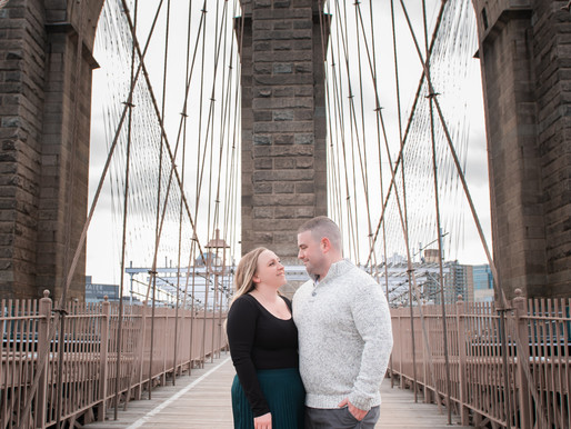 BROOKLYN ENGAGEMENT | JAIMEE & SEAN