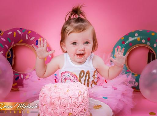 CAKE SMASH | BABY MADISON