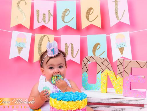 CAKE SMASH | BABY EMERSON
