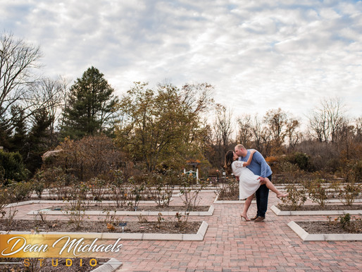 COLONIAL PARK ENGAGEMENT | LEANA & MIKE