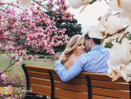 COLONIAL PARK ENGAGEMENT | PAULINA & TIMOTHY