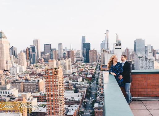 NYC ENGAGEMENT | CHRISTINE & ANTHONY