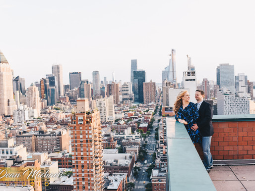 NYC ENGAGEMENT | CHRISTINE & ANTHONY