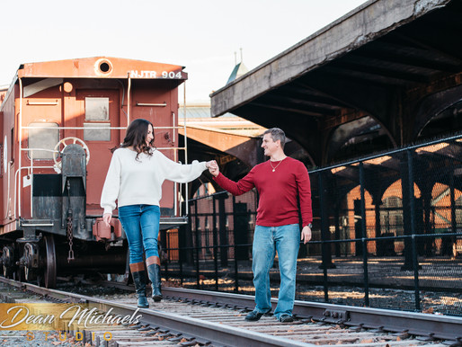 JERSEY CITY ENGAGEMENT | JACKIE & DAVID