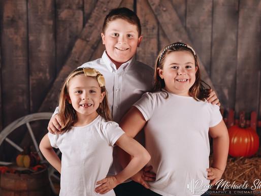 FALL MINI SESSION | FRANK, CATHLEEN & MARY