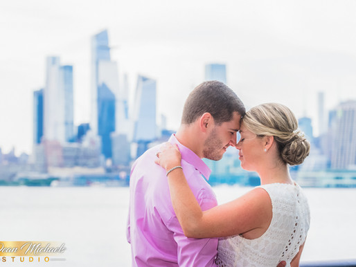 HOBOKEN ENGAGEMENT | AMANDA & PETER