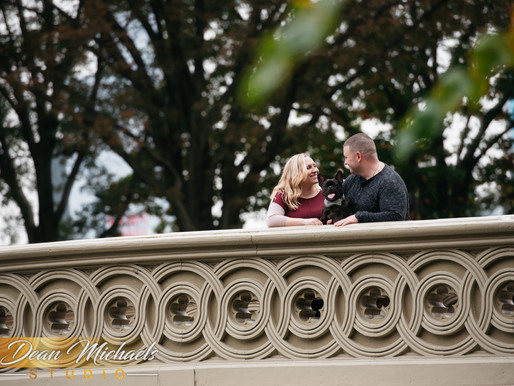 CENTRAL PARK ENGAGEMENT | JAIMEE & SEAN