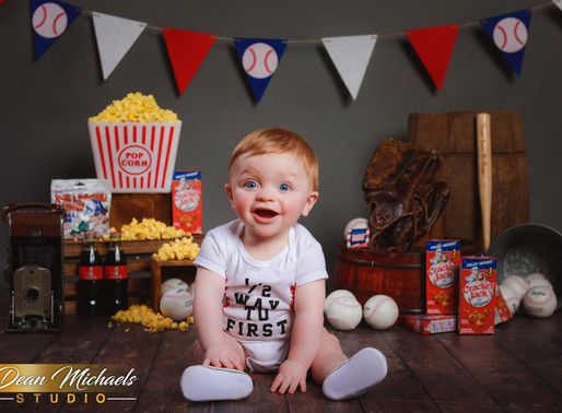 6 MONTH SESSION | BABY THOMAS